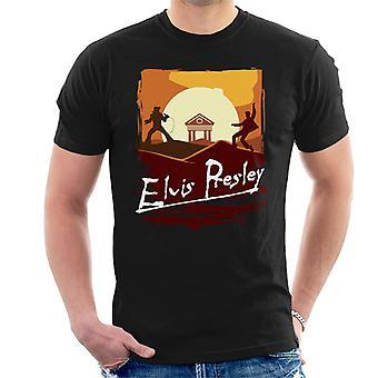 Elvis Presley Apocalypse ora t-shirt uomo