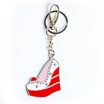 Red Velvet Wedge Keychain