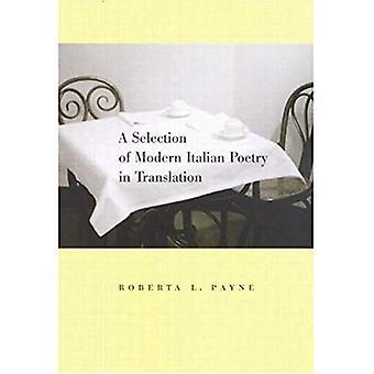 Uma seleção de poesia italiana moderna na tradução