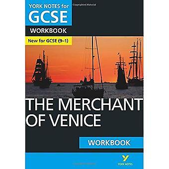 Der Kaufmann von Venedig: York Hinweise für GCSE (9-1) Arbeitsmappe (York Notes)