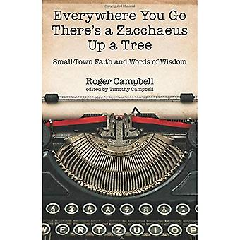 Everywhere You Go There's a Zacchaeus Up a Tree: Small-Town Faith and Words of Wisdom from Roger Campbell's Newspaper Columns