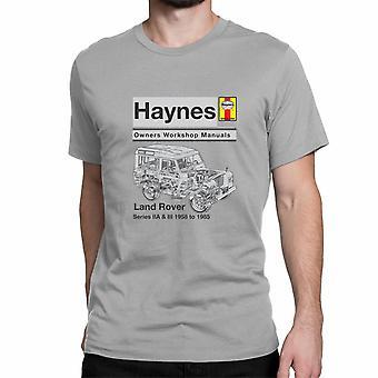Officiële Haynes handleiding Unisex T-shirt Land Rover Series IIA & III 1958 tot en met 85 Owners Workshop Manual