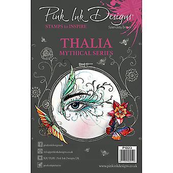 Tusz różowy wzory Thalia mitycznych serii wyraźną pieczęć 11 zestaw