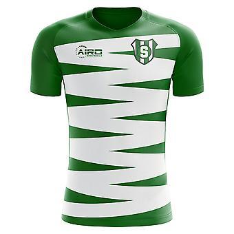 2020-2021 Sporting Lisbon Home Concept Football Shirt - Kids