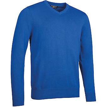 Glenmuir Mens Glencoe V NecK Touch Of Cashmere Golf Sweater