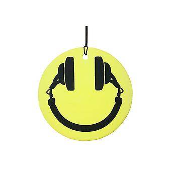 Smiley cuffie Car Air Freshener