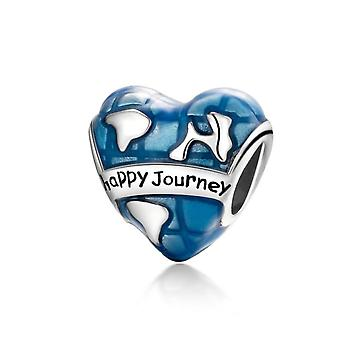Charm in argento Sterling Happy Journey