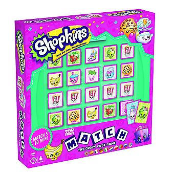 Gioco di Shopkins Top Trumps Match Crazy Cube