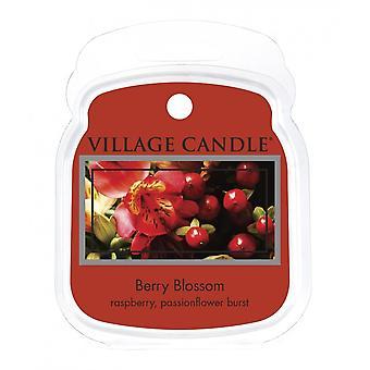 Dorf Kerze Wachs Schmelzpackungen für den Einsatz mit Schmelztorte & Ölbrenner 6 Stücke Beerenblüte