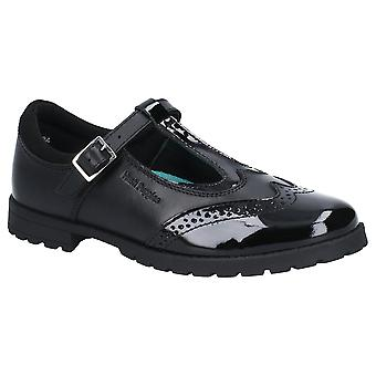Hush valper jenter Maisie Leather Mary Jane skolen sko