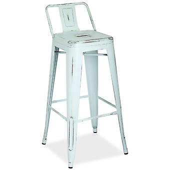 Kuovi Stool Kuovi Alto Metal With Backrest (Furniture , Stools)