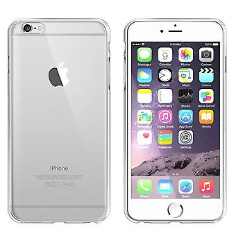 iPhone SE 2020 and 8 and 7 Case Silver - Bumper Backcover Clear