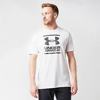 Ny under Armour menn ' s Foundation kort ermet T-skjorte hvit