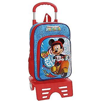 ديزني ميكي فيسبا حقيبة الظهر - 38 سم - 11.29 لتر - متعدد الألوان
