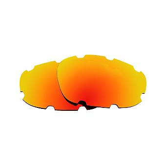 Polarized Replacement Lenses for Oakley Split Jacket Sunglasses Red Anti-Scratch Anti-Glare UV400 by SeekOptics