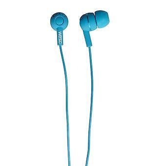 WeSC Kazoo In-Ear Cuffie per iPhone, iPod e DISPOSITIVI MP3 - Mauritius Blue