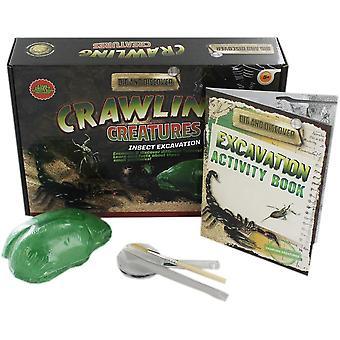 Grafix gräva och upptäcka-krypande varelser utgrävning kit