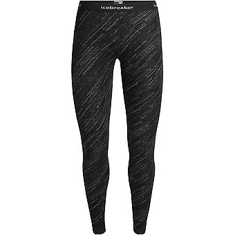 Icebreaker Women's Vertex Leggings Snowstorm - Black