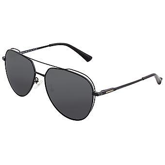 Breed Lyra Polarized Sunglasses - Black/Black