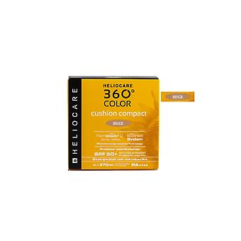 "Heliocare 360"" Color Cushion Compact Spf50+ Sunscreen, Beige Tone"