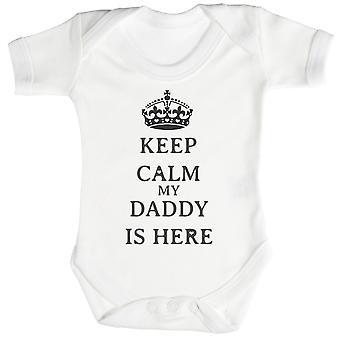 Calm Daddy is Here Baby Bodysuit / Babygrow