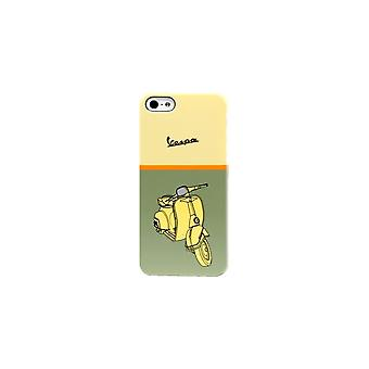 Vespa Green Scooter Pattern Shell For Apple IPhone 5