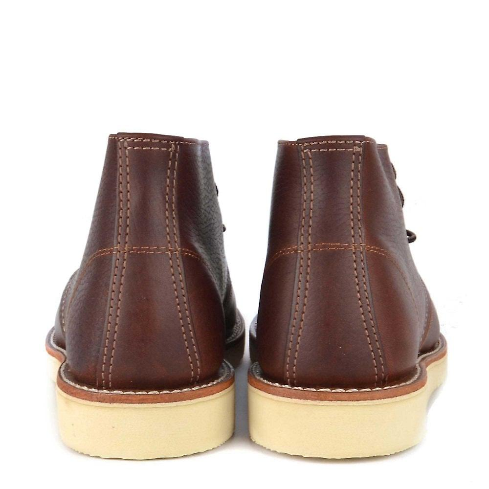 Red Wing Hommes-apos;s Chukka Brown Cuir Boot