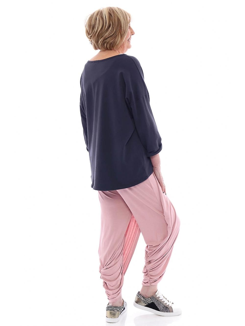 Made In Italy Glinter Harem Pants
