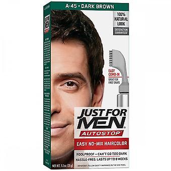 Apenas para homens autostop cor do cabelo - A45 Dark Brown