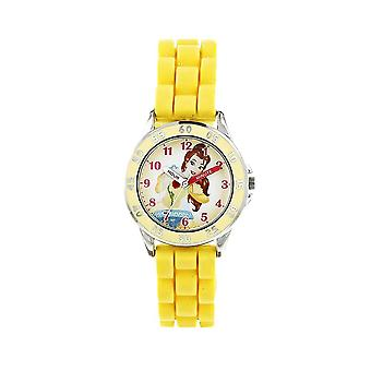 Beauty and the Beast Belle Yellow Analogue Watch