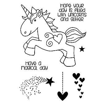 Woodware Clear Magic Singles by Francoise Read - Unicorn Stamp