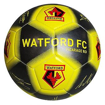 Watford fotball signatur