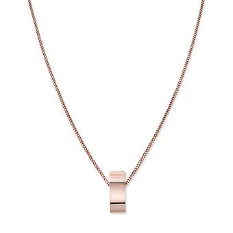 Rosefield BFCNR-J204 necklace and pendant - COLLECTION THE LOIS Colier charm gold rose Steel Women