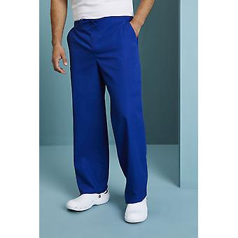 SIMON JERSEY Unisex Fitted Scrub Trousers, Royal