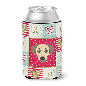 Carolines Treasures  CK5235CC Sato Dog Love Can or Bottle Hugger