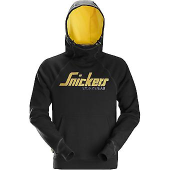 Snickers Mens Logo Soft Touch Work Sweater Hoodie