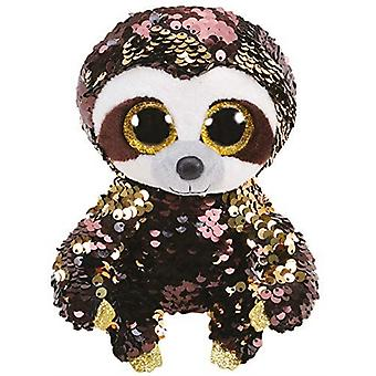 Ty - Beanie Boos Flippables Sequins Dangler the Sloth Soft Toy