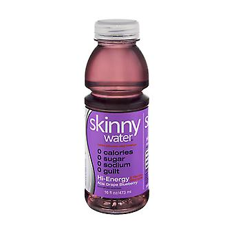 Skinny Water Acai Grape Blubry-( 473 Ml X 12 )