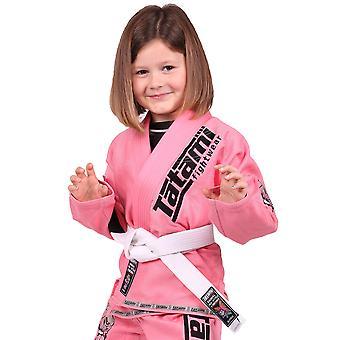 Tatami Fightwear Meerkatsu lapset eläinten BJJ Gi - vaaleanpunainen