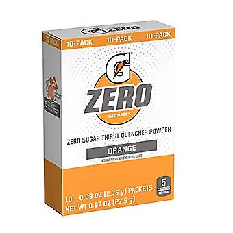 Gatorade Zero Orange Singles Drink Mix 3 Pack