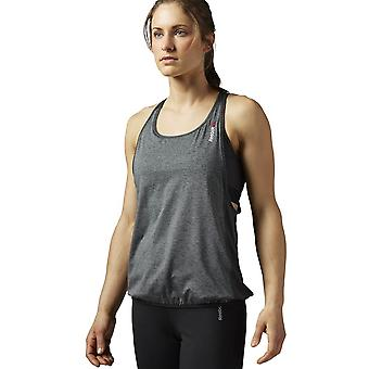 Reebok OS Long Bra Top AJ0624 universal all year women t-shirt