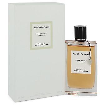 Rose Rouge Eau De Parfum Spray By Van Cleef & Arpels   547335 75 ml