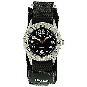 Boxx Green Army Camouflage Easy Fasten Strap Childrens Boys Sports Watch