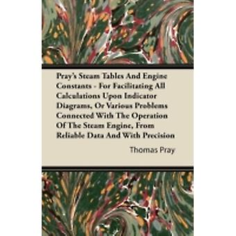Prays Steam Tables and Engine Constants  For Facilitating All Calculations Upon Indicator Diagrams or Various Problems Connected with the Operation by Pray & Thomas