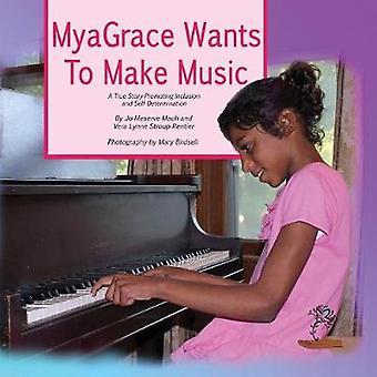 MyaGrace will Musik zu einer wahren Geschichte machen, die Inklusion und Selbstbestimmung von Mach & Jo Meserve fördert