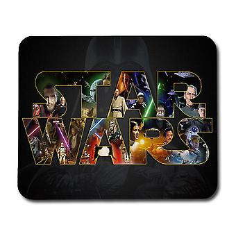 Star Wars Logo Mouse Pad