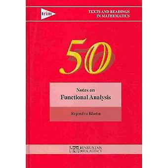 Notes on Functional Analysis by Rajendra Bhatia - 9788185931890 Book