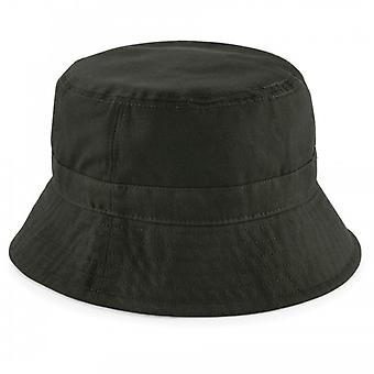 Beechfield Mens Waxed Water Resistant Bucket Hat