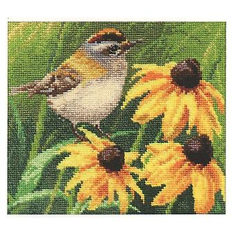 Alisa Cross Stitch Kit - Goldcrest