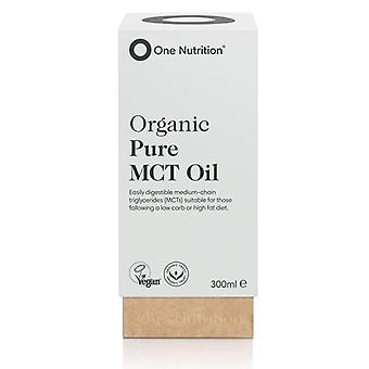 One Nutrition Organic Pure MCT Oil 300ml (ONE039)